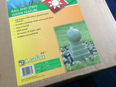 Garden XP Ball And Steps Water Feature BSWF 17 X 17 X 31 Cm  • 39.99£