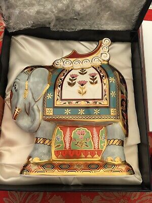 Royal Crown Derby  Imari Elephant Paperweight • 155£
