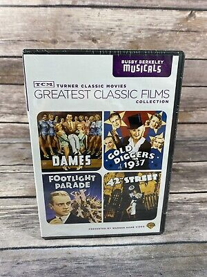 £21.82 • Buy TCM Greatest Classic Films Collection: Busby Berkeley Musicals (DVD, 2010) NEW