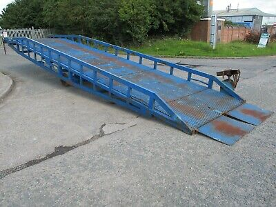 Chase Loading Ramp Container Ramps Dock Forklift Yard Mobile Delivery Arranged • 4,495£