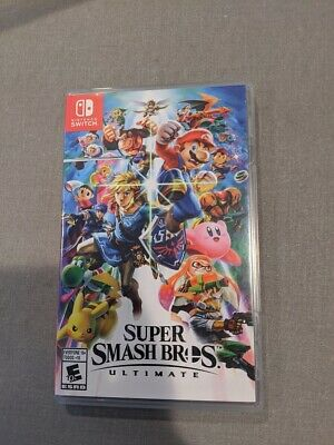 $59.99 • Buy Super Smash Bros. Ultimate Nintendo Switch Complete Free Shipping