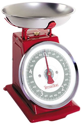 £28.89 • Buy Hanson T500 Red Traditional 5kg Mechanical Kitchen Scales