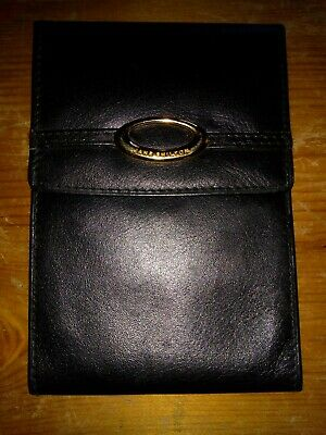Jane Shilton Black Leather Purse Wallet Notes Coins • 9.99£