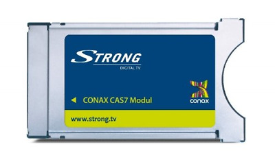 Strong CAS7 Conax CI Receiver Module With Conax Decryption For Reception Via And • 72.99£