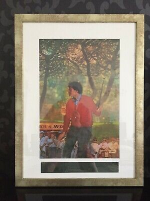 Seve Ballesteros & Bernie Fuchs Signed & Numbered Limited Edition Lithograph • 237£