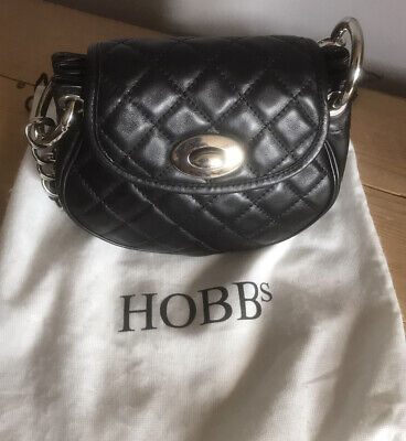 Lovely Hobbs Small Quilted Front Leather Bag • 9.99£