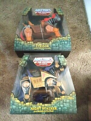 $350 • Buy Masters Of The Universe Classics Stridor & Night Stalker Sealed Free Shipping!