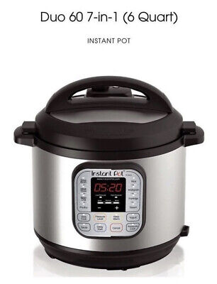 $52.99 • Buy Instant Pot Duo60 6-Quart 7-In-1 Multi Use Pressure Cooker NEW IN BOX