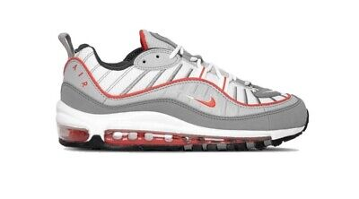 $119.97 • Buy Nike Air Max 98 Particle Grey/Red CI3693 001 Sizes 9.5-11