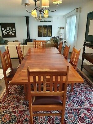 AU2600 • Buy Hand Made Red Gum Dining Tables And Chairs