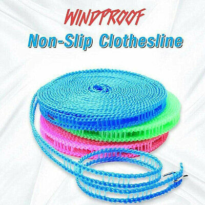 5M Non-slip Nylon Washing Clothesline Outdoor Travel Camping Clothes Line Rope • 2.69£
