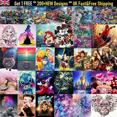5D Diamond Painting Embroidery Cross Craft Stitch Art Kit Mural Home Decor DIY • 7.87£