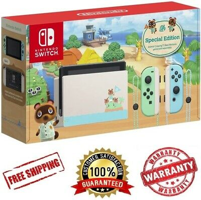 AU648.50 • Buy *NEW* Nintendo Switch Animal Crossing   Limited Edition   AUS Stock   IN HAND