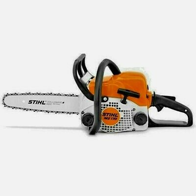 """View Details NEW COMPACT And Powerful STIHL MS 170  Chainsaw + 12""""  Bar & Chain • 198.99£"""