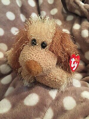 TY Beanie Baby Beanies Babies Punkies Collection SHREDS DOG Rare Tags Retired GC • 3.99£