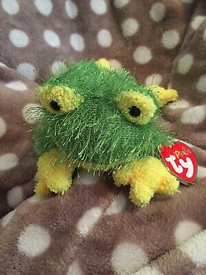 TY Beanie Baby Beanies Babies Punkies HOPSCOTCH FROG Rare Tags Retired Toad VGC • 3.99£