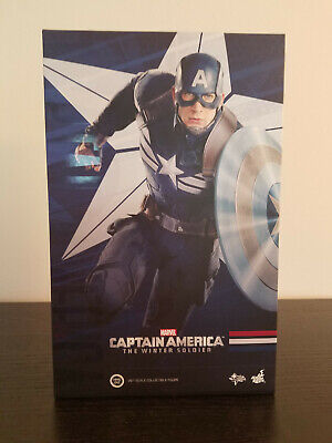 $319.99 • Buy Captain America Marvel Hot Toys 1/6th Figure The Winter Soldier MMS242 New