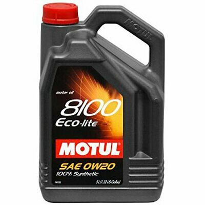 $ CDN55.76 • Buy 108214 Motul 8100 Eco Lite 5W30   5L    Synthetic Engine Oil