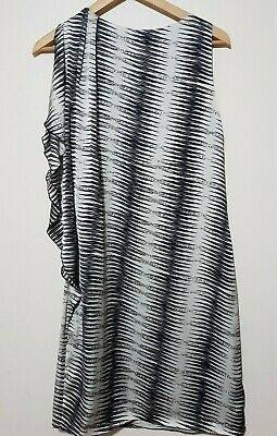 AU35 • Buy By Nicola Finetti Dress Size 10 One Shoulder Drape Cocktail Party Outfit Womens