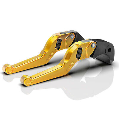 $27.99 • Buy MZS Short Brake Clutch Levers For ZX6 ZX6R ZX6RR ZX9R ZX10R ZX12R Z125 Z900 Z650