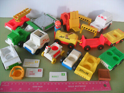 Vintage Fisher Price Little People Vehicles (Loads To Choose From) • 6.29£