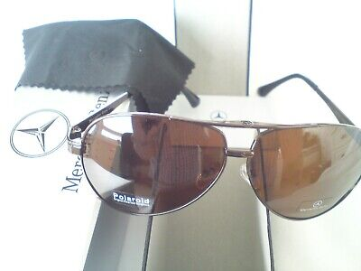 Mercedes Benz Polarized Sunglasses With Mercedes Case And Wipe. New. All Boxed • 19£