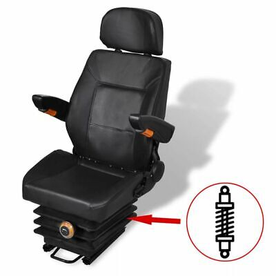 AU366.95 • Buy Tractor Seat With Headrest And Armrest Weight Adjustment Suspension Padded Chair