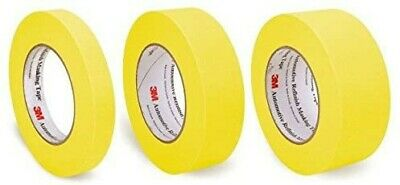$ CDN38.50 • Buy 3M 06652 06654 06656 1 Roll Ea Yellow Automotive Refinish Masking Tape
