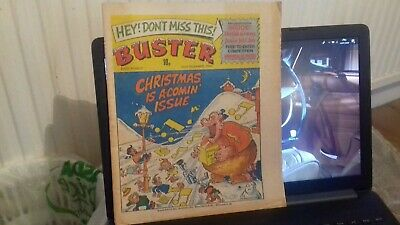 Buster Comic, 22 December, 1979. Rare In This Remarkable Condition. • 3£