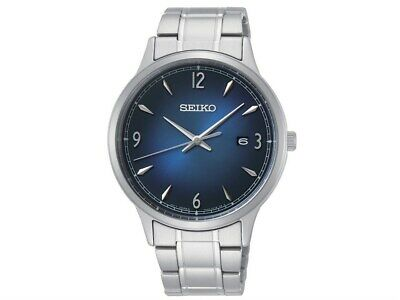$ CDN129.99 • Buy Seiko Mens Discover More Stainless Steel Blue Dial Watch - SGEH89P1 SGEH89
