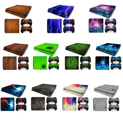 AU9.29 • Buy For Playstation 4 PS4 Slim Console Skin Decal Sticker +2 Controller Skins