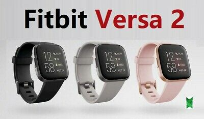 $ CDN149.95 • Buy Fitbit Versa 2 Smartwatch Activity Tracker Gold Pink Black Silver Good Condition