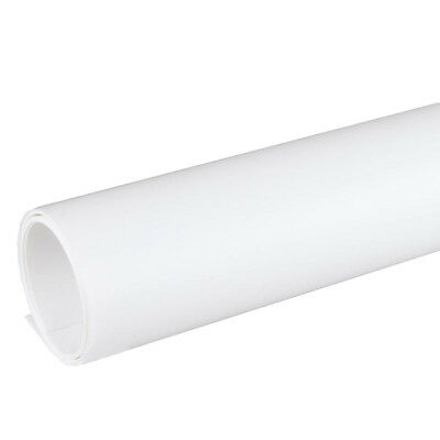 60x130cm White PVC Background For Product Photography (Matte Finish) Fashion  • 17.99£
