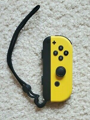 $15 • Buy Used Nintendo Switch Right Joy Con (Yellow)-painted By Colorware