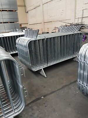 Crowd Barriers NEW Heavy Duty Fixed Leg Top Quality £16.00     07939513160  Joe • 16£