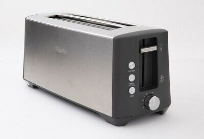 AU79.80 • Buy Breville BTA440BSS The Bit More Plus 4 Slice Toaster - Stainless Steel