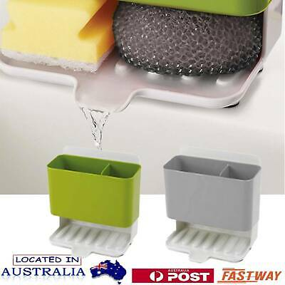 AU29.45 • Buy Caddy Storage Kitchen Sink Utensils Holders Drainer Sponge Holder Kitchen ToolAU