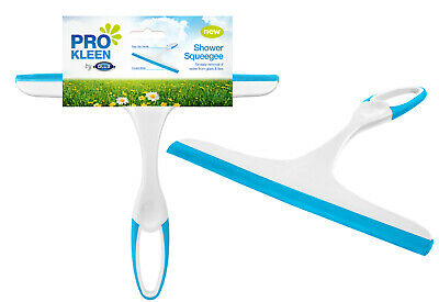 Shower Cleaner Window Squeegee Wiper Glass Clean Rubber Blade Screen Washer Tile • 2.99£