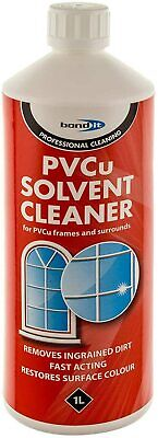 £8.89 • Buy PVC UPVC PVCu Solvent Cleaner Windows Doors & Conservatory Frame Cleaning 1ltr