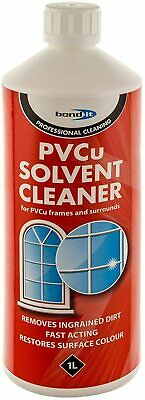 PVC UPVC PVCu Solvent Cleaner Windows Doors & Conservatory Frame Cleaning 1ltr • 6.99£