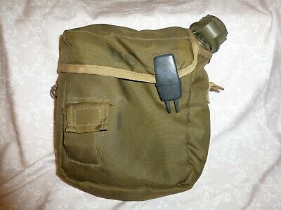 $ CDN15.71 • Buy Vintage Military  2 QT Collapsible Canteen With Pouch
