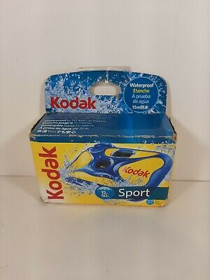 £10.64 • Buy NIB Kodak Sport Underwater Waterproof 35mm Disposable Camera EXP. 01/2017