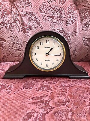 Vintage Metamec Quartz Carriage Mantel Clock Battery Operated Made In England  • 65£