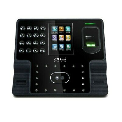 AU205.81 • Buy ZKTeco Iface102 Fingerprint Time Attendance Biometric Face Recording TimeMachine