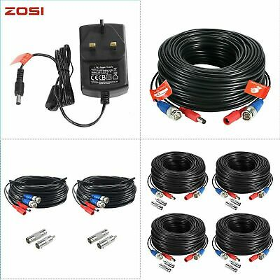 AU15.99 • Buy ZOSI 20M 30M BNC Video DC Power Extension Cable 4K 1080P High Speed Ethernet HEC