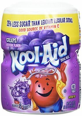 Kool Aid Grape Drink Mix, Tub 538 G (Pack Of 1) • 9.99£