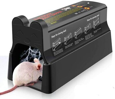 Electronic Mouse Trap Mice Rat Killer Pest Victor Control Electric Zapper Rodent • 27.99£