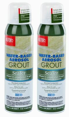 2 X DuPont Wall And Tile Grout Protection Aerosol Sealer Spray (435ml) • 12.99£