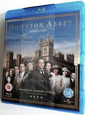 Downtown Abbey - Series One (2010) Hugh Bonnerville / Maggie Smith (Blu Ray) NEW • 9.95£