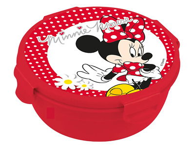 Official Disney Minnie Mouse Kids Packed Lunch School Or Picnic Snack Pot Box  • 6.90£
